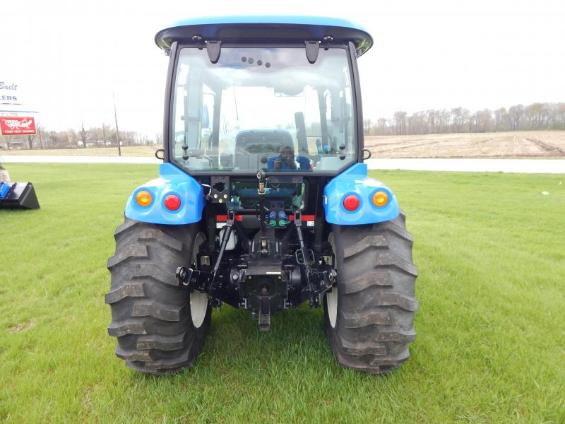 "2016 New Holland Boomer 41 Tractor W 72"" Bucket"