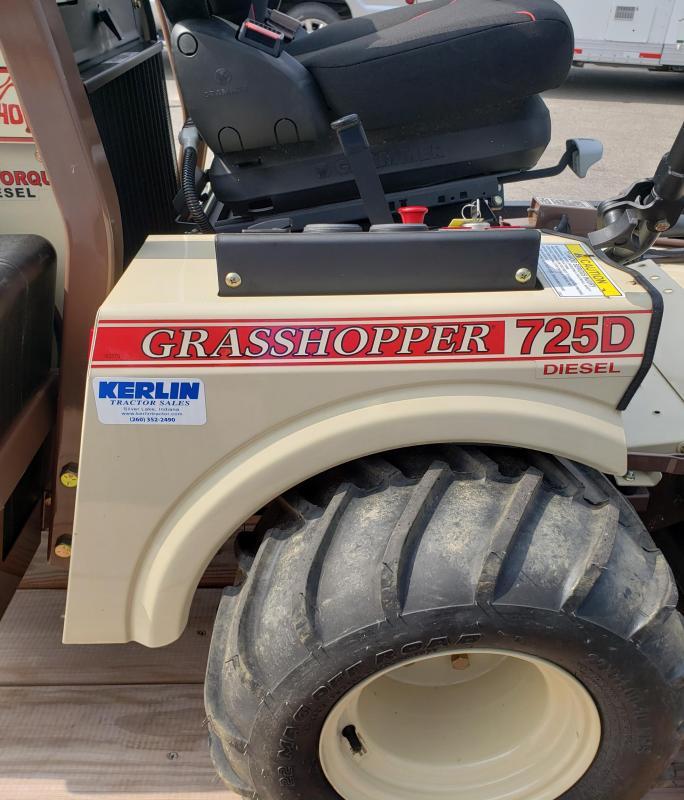 2018 Grasshopper 725D Lawn