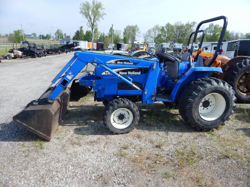 2004 New Holland TC30 Tractor W/ Loader