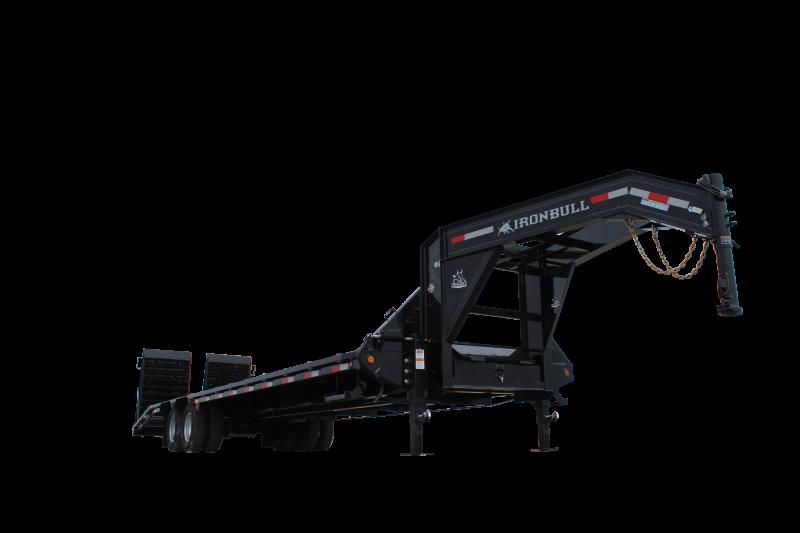 Low Pro 102 X 25 - 20K Open Gooseneck Trailer