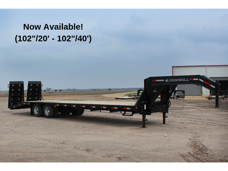 Low Pro 102 X 25 - 20K Open Gooseneck Trailer