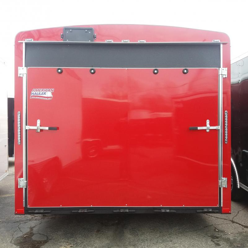 8.5 X 18 Tandem Axle Enclosed Car Hauler