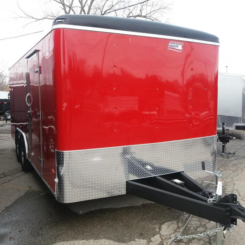 8.5 X 18 Tandem Axle Enclosed Car Hauler