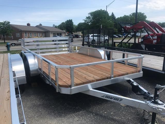 7 X 14 Tandem Axle Open Utility Trailer