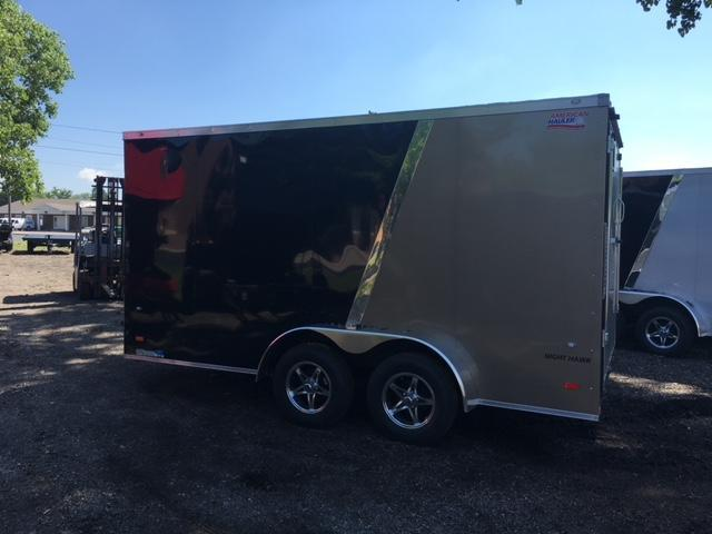 7 X 14 Tandem Axle Enclosed Trailer
