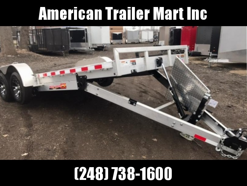 "82"" X 20  Flatbed /Tilt/ Open Car Hauler Trailer"
