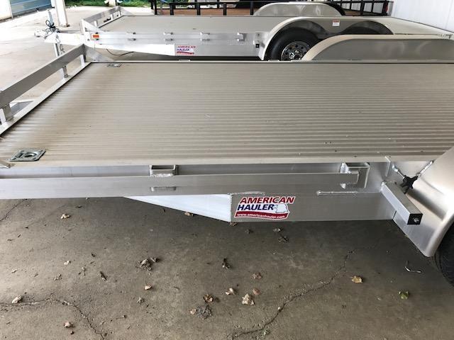 8 X 18 Open Aluminum Car Hauler