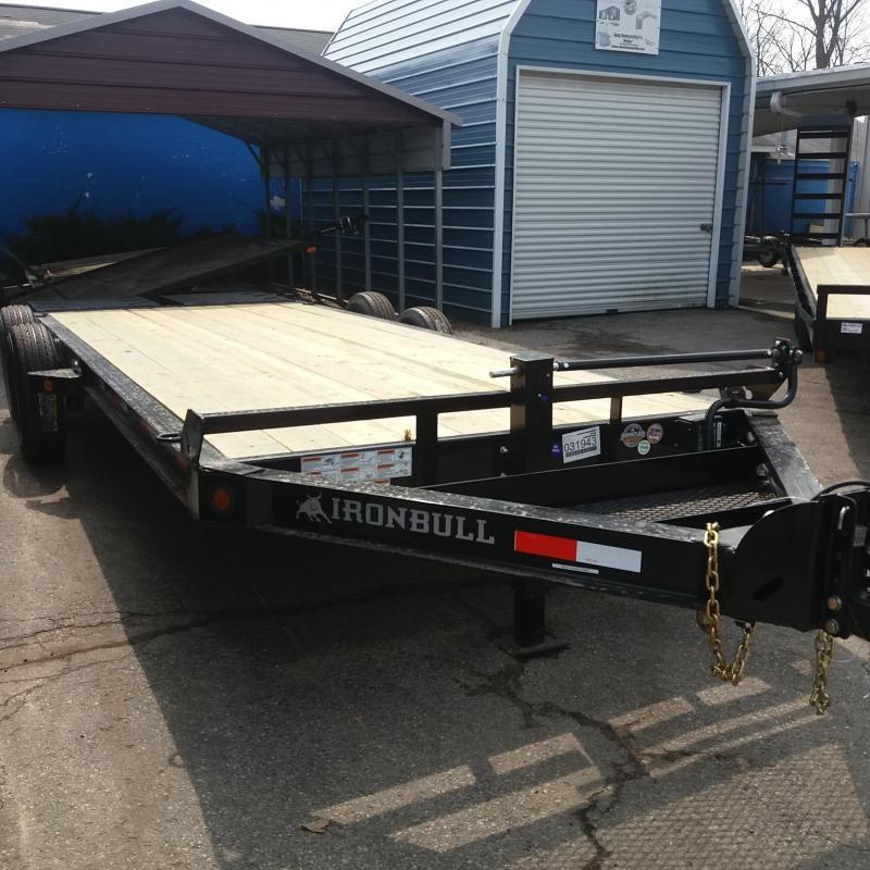83 X 20 IRON BULL HD Equipment Hauler Trailer 14K