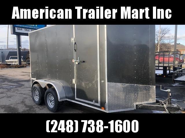 6 X 12 Tandem Axle Enclosed Trailer