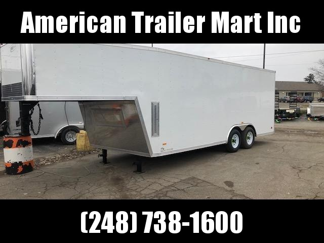 8.5 X 28 TA3 Enclosed Gooseneck Cargo Trailer