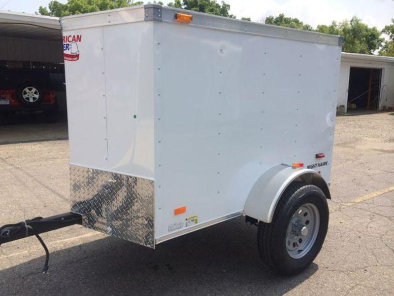 4 X 6 Single Axle Enclosed Trailer in Ashburn, VA