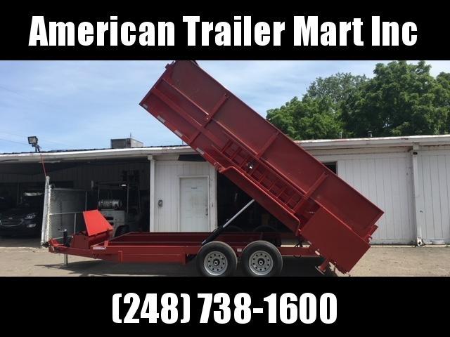 83 X 16 Dump Trailer