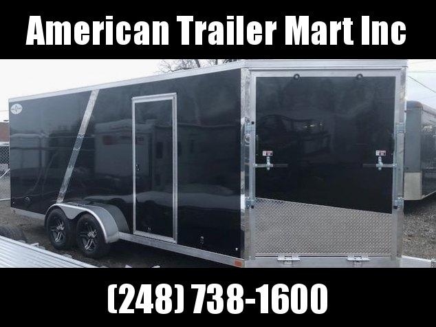 7 X 19  Tandem Axle Snowmobile Trailer