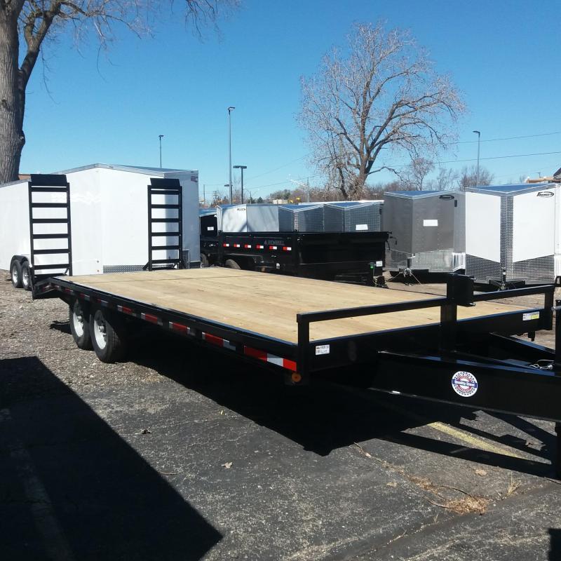 102 X 18+4 Deckover Equipment Hauler Trailer 14K in Ashburn, VA