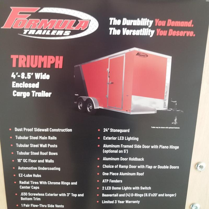 7 X 14 Enclosed Trailer