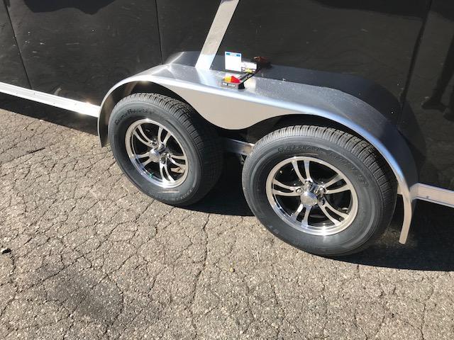 7 X 29 Tandem Axle Snowmobile Trailer