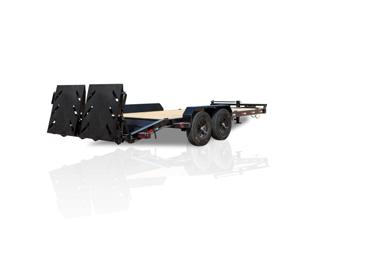 83 X 18 IRON BULL HD Equipment Hauler Trailer 14K