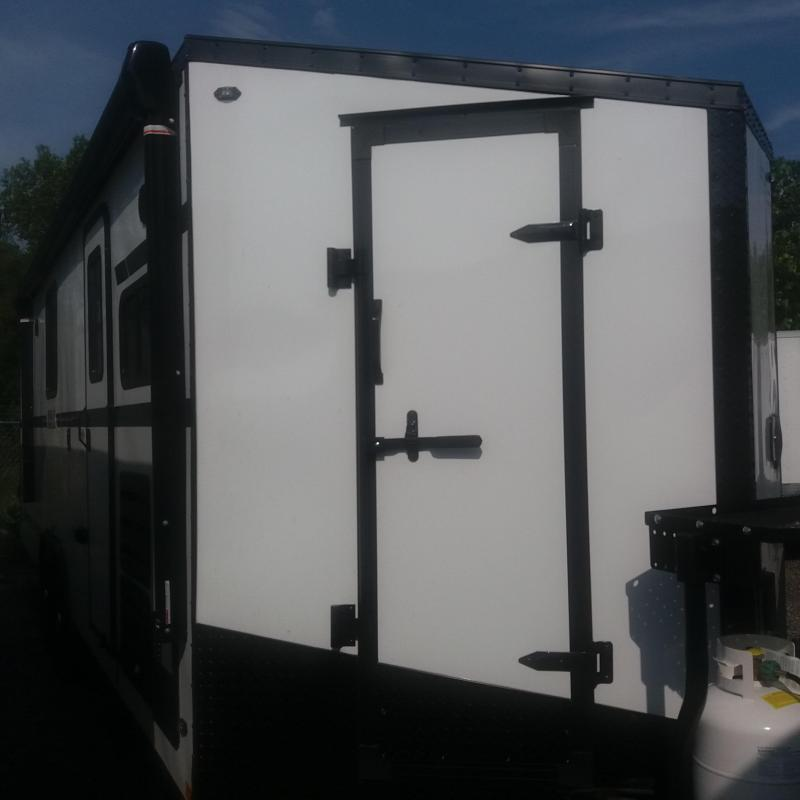 8.5 X 24TA4 Toy Hauler Trailer