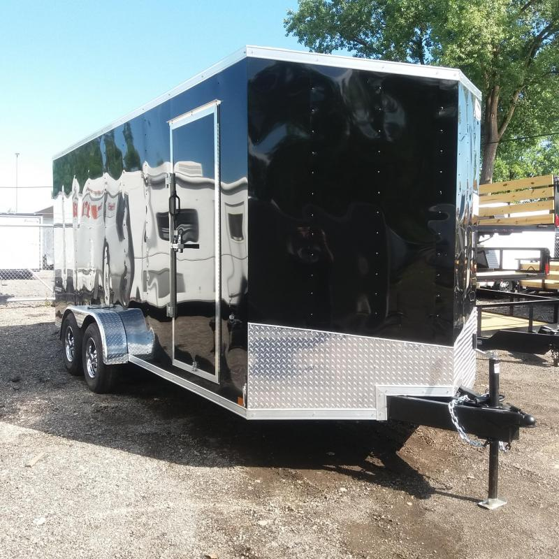 7 X 18 Tandem Axle Enclosed Trailer