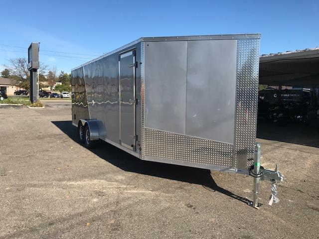7 X 27 Tandem Axle Snowmobile Trailer