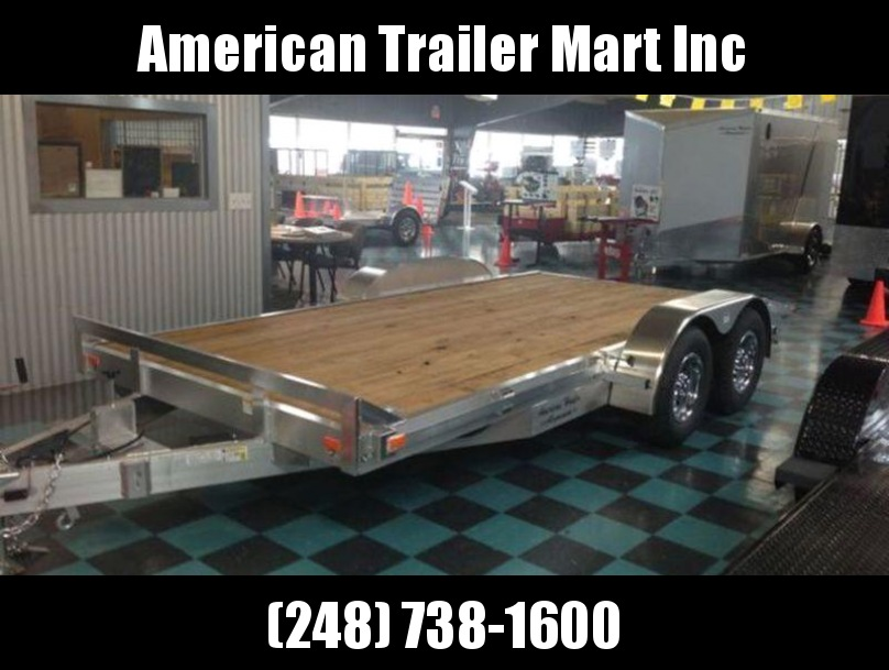 "82"" X 18 Open Car Hauler/Flatbed Trailer"