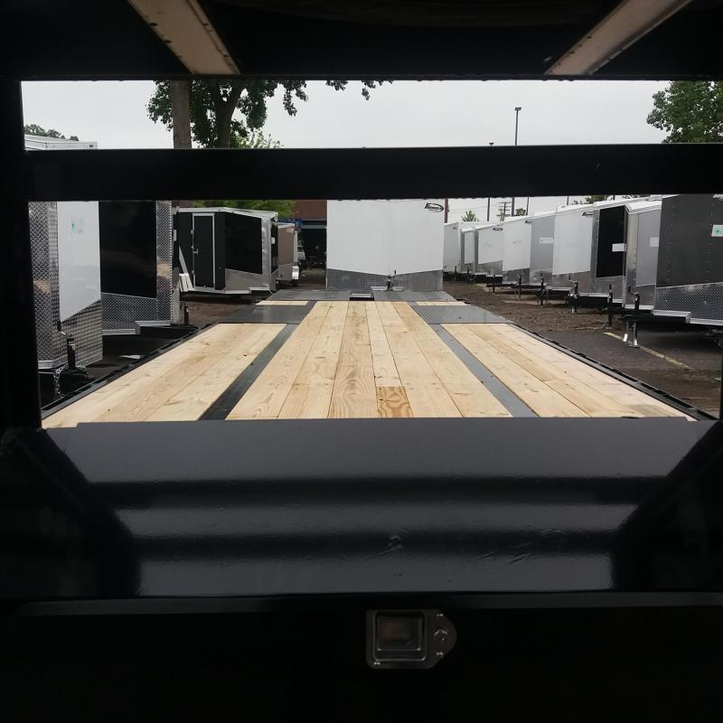 102 X 32 Low Pro Open Gooseneck Trailer 20K