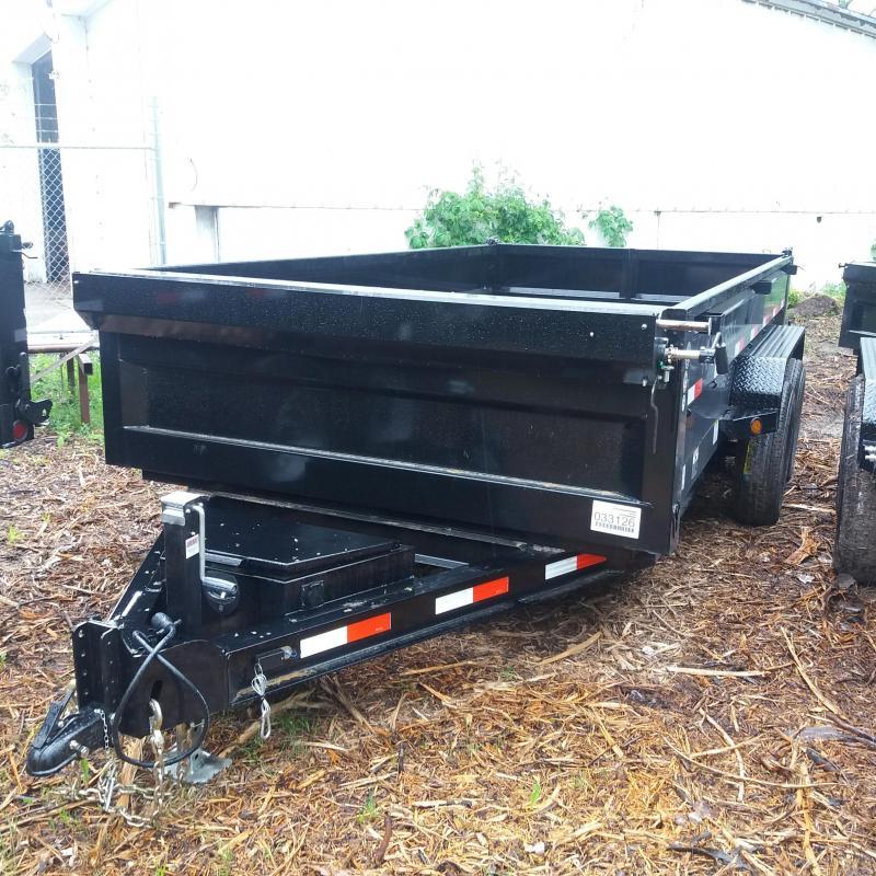 83 X 14 IRON BULL Dump Trailer 14K