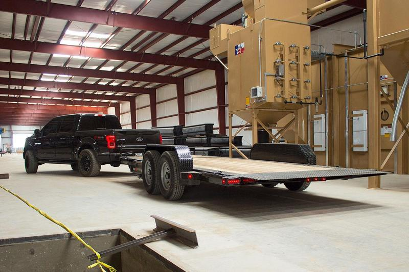 83 X 20 Tilt Low Pro Equipment Trailer