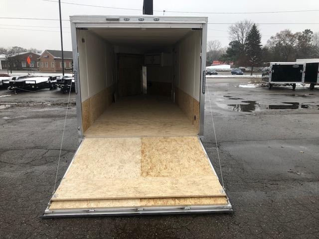 7 X 23 Tandem Axle Snowmobile Trailer