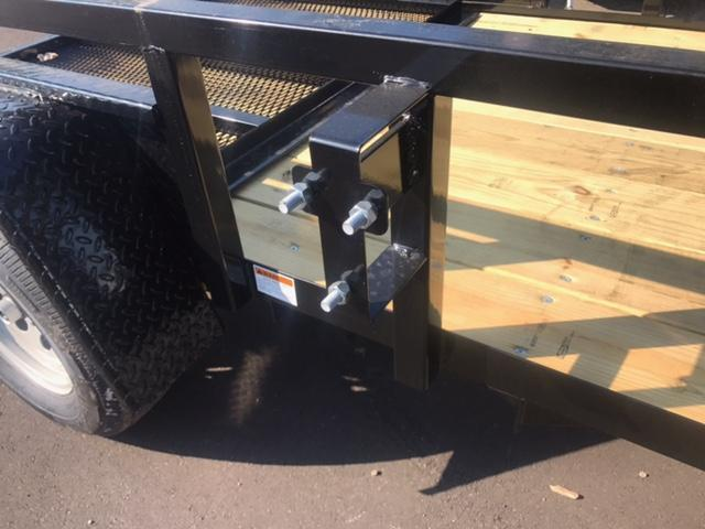 5 X 8 Single Axle Open Utility Trailer