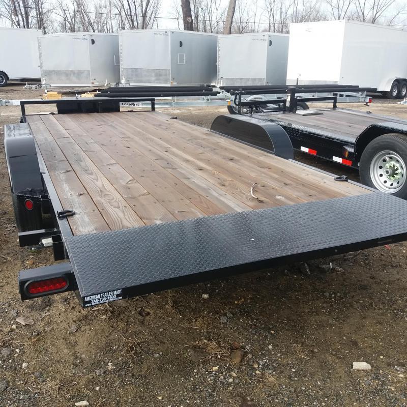 83 X 18 Tilt Car/Equipment Hauler Trailer