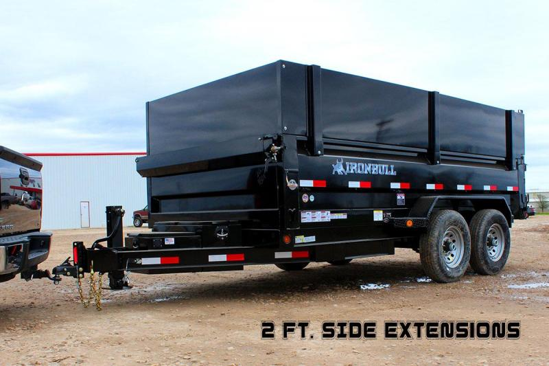 83 x 16 Dump Trailer 21K Tri Axle