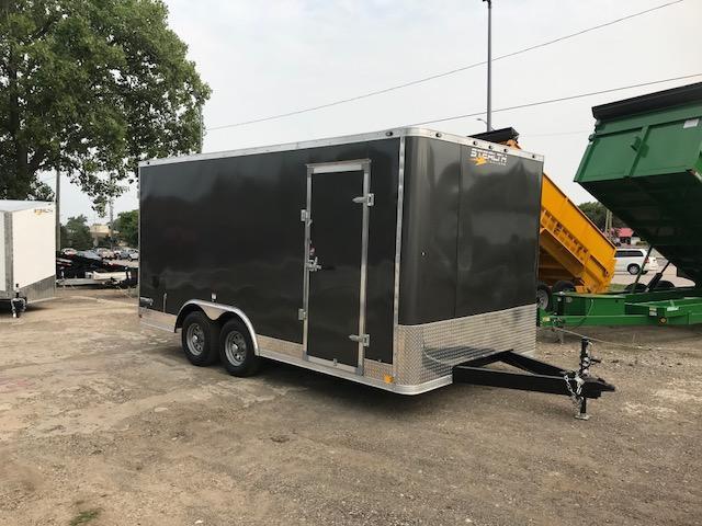 8.5 X 16 Enclosed Cargo Trailer