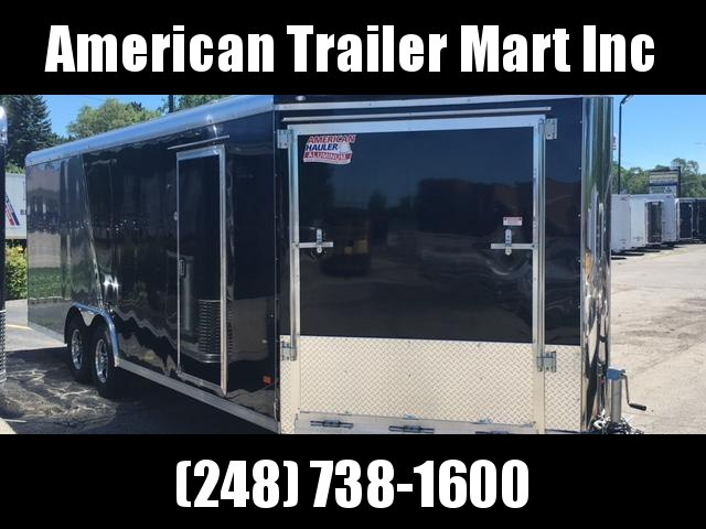 8.5 X 26 Tandem Axle Enclosed Car Hauler
