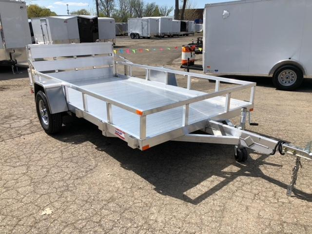 "77"" X 12 Single Axle Open Utility Trailer in Ashburn, VA"