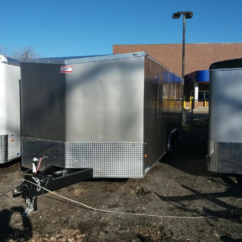 8.5 X 20 Tandem Axle Enclosed Car Hauler Trailer in Ashburn, VA