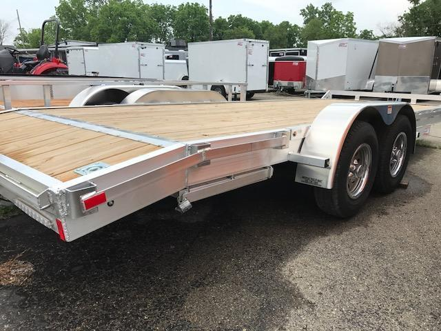 8 X 20 Tandem Axle Equipment Trailer / Flatbed / Open Car Hauler Trailer