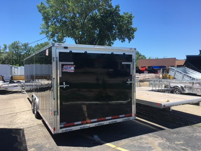 8.5 X 28 Tandem Axle Enclosed Car Hauler