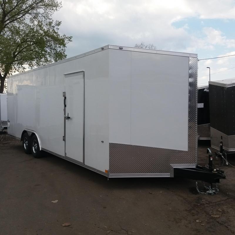 8.5 X 24 Tandem Axle Enclosed Car Hauler Trailer in Ashburn, VA