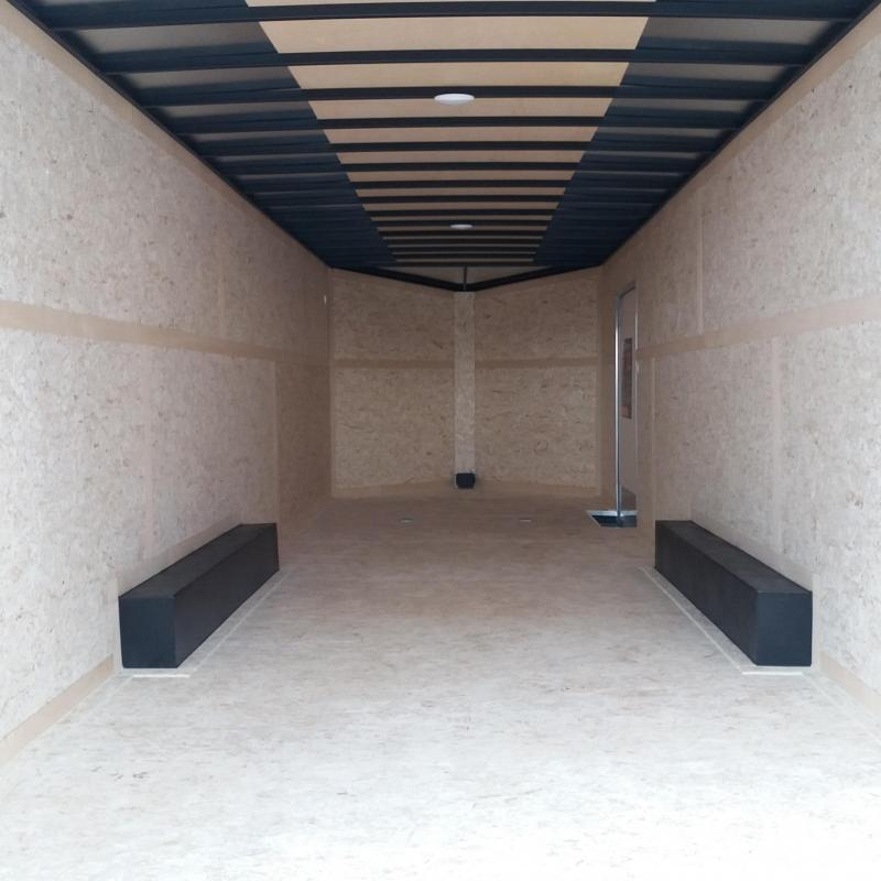 8.5 X 24 Tandem Axle Enclosed Car Hauler Trailer