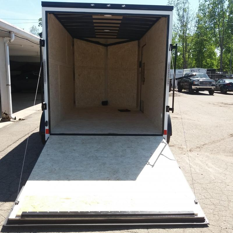 7 X 12 Tandem Axle Enclosed Trailer Blackout Pkg