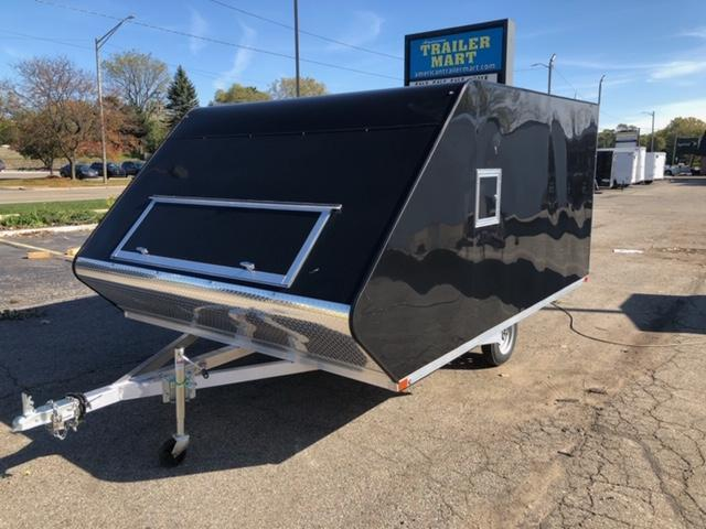8.5 X 12 Enclosed Snowmobile Trailer