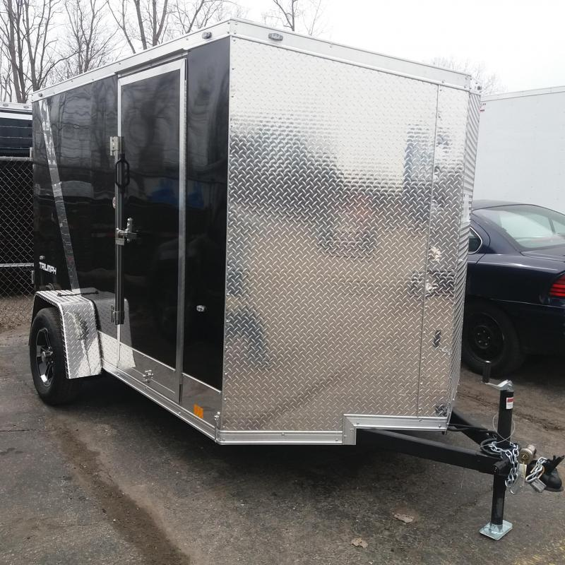 6 X 10 Single Axle Enclosed Trailer in Ashburn, VA