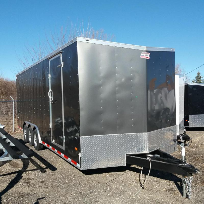 8.5 X 24 Tri Axle Enclosed Car Hauler Trailer in Ashburn, VA