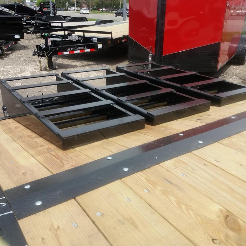 102 X 16 +5 Deck Over Equipment Hauler 14K