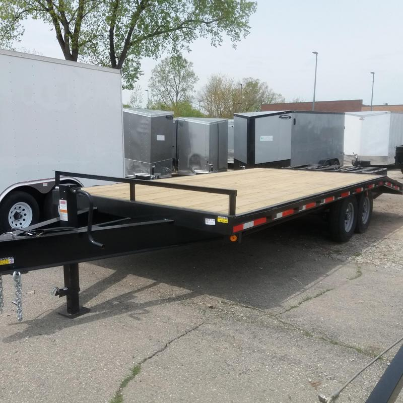102 X 16 +5 Deck Over Equipment Hauler 14K