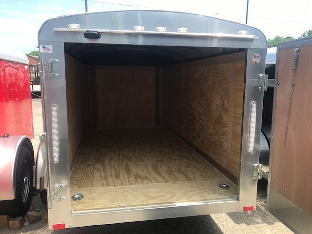 5 X 10 Single Axle Enclosed Trailer