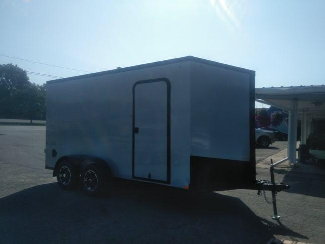 7 X 14 Tandem Axle Enclosed Trailer Blackout Pkg
