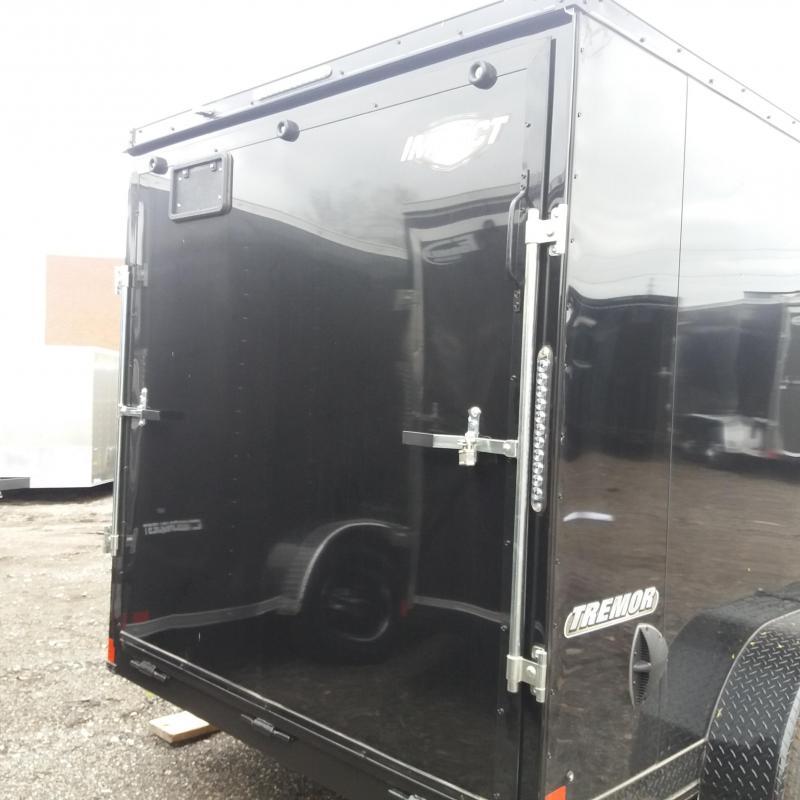 7 X 14 Tandem Axle Enclosed Trailer Blackout Pkg