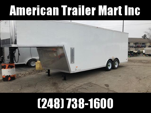 8.5 X 28 TA3 Enclosed Gooseneck Cargo Trailer